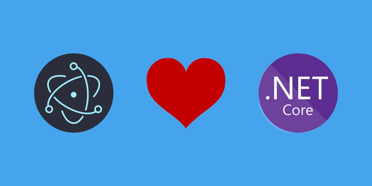 Electron love .NET Core